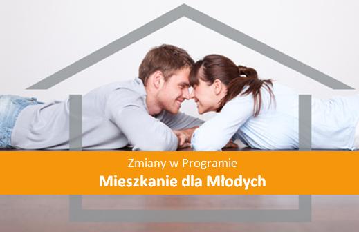 Zmiany Mieszkanie dla Młodych 2015